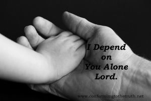 The Greater My Knowledge of Sin, The Greater My Dependance on Him!