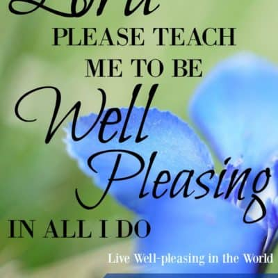 {Live Well-Pleasing in the World~A Study in Titus 2}