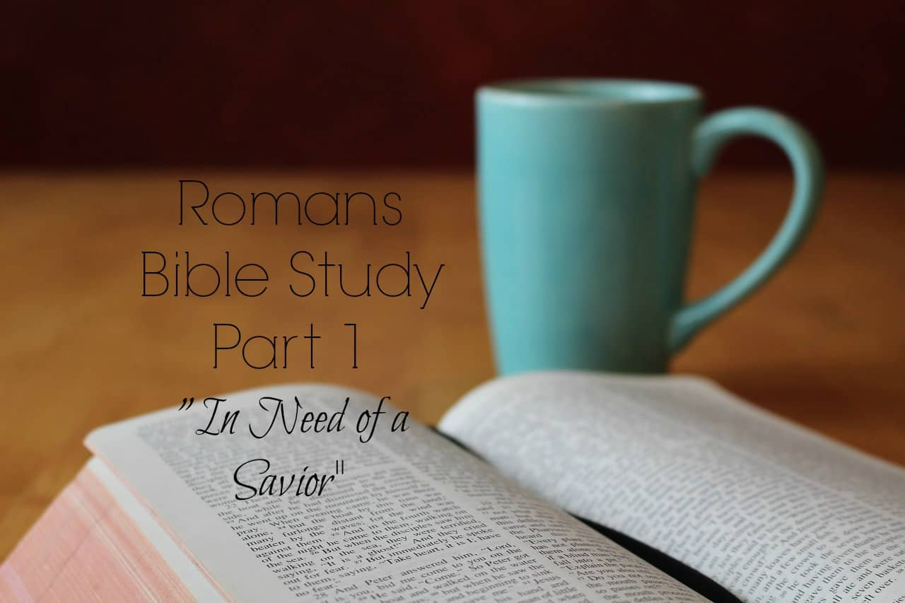 {Lesson One Romans Study}