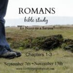 Romans Study { Introduction}