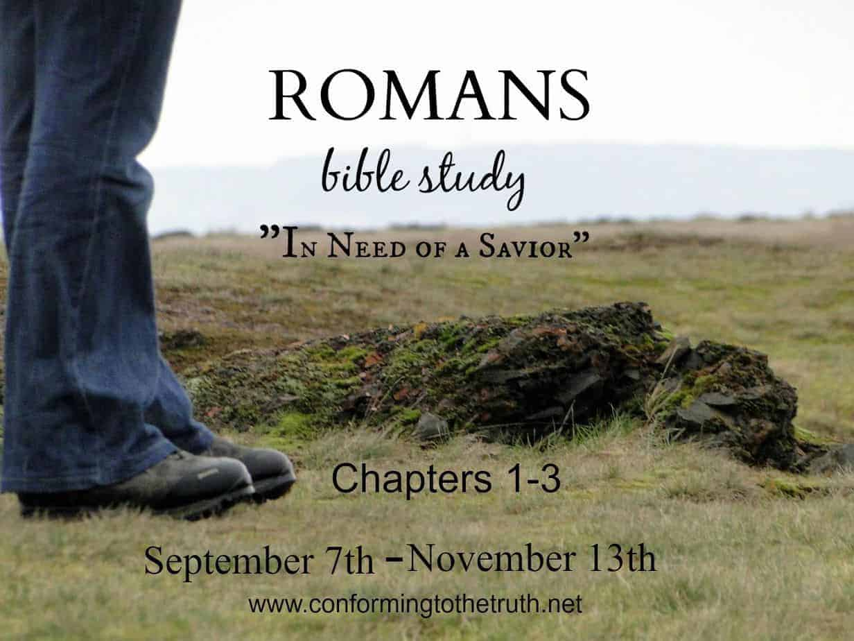 A Gospel Promised: Standing on the Promises {Romans Study Lesson 1}