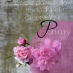 Do You Think God Will Show You Partiality ?