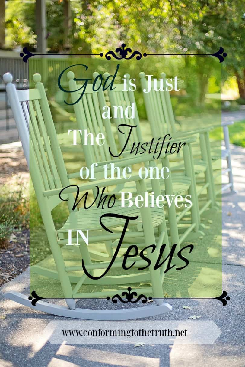 Did You Know God is the One Who Justifies?