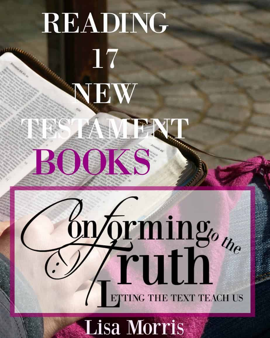 {Reading  17 New Testament Books In 17 Weeks!}