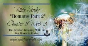 The Christian Groans today waiting eagerly for the return of Christ! Join us in our Bible Study in Romans to see that someday our groaning will one day result in Praise! I am ready! How about you?