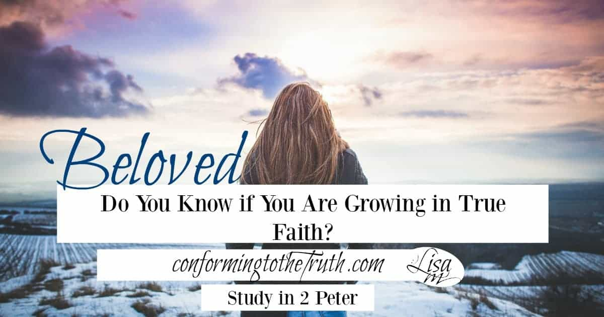 Do You Know if You Are Growing in True Faith?