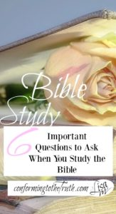 When anyone sits down to study the bible there are 6 important questions we need to ask. Who, what, where, when, why, and how?