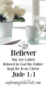Sisters! We are called, beloved in God the Father and kept, help safe in the love of God for Christ Jesus.