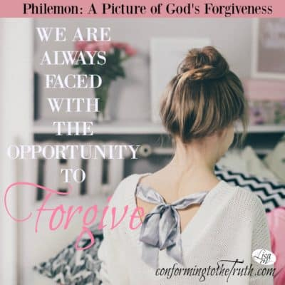 Do you see the awesome opportunity to forgive others? On any given day someone does or will hurt us. In that moment we stand with a choice, forgive or not.