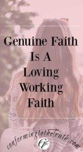 We are justified by God's gracious gift of faith. Not by works so that no one can boast. However, Genuine faith is a loving working faith.