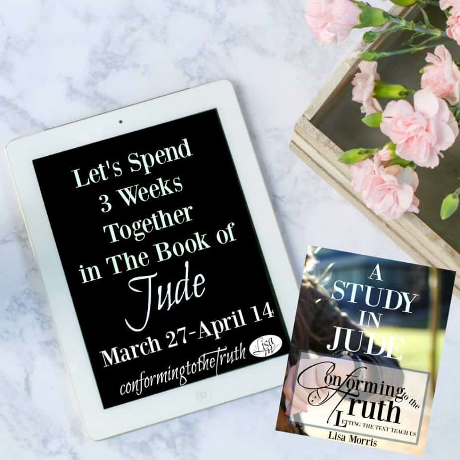 Jude 1-8 Inductive Bible Study - Study and Obey