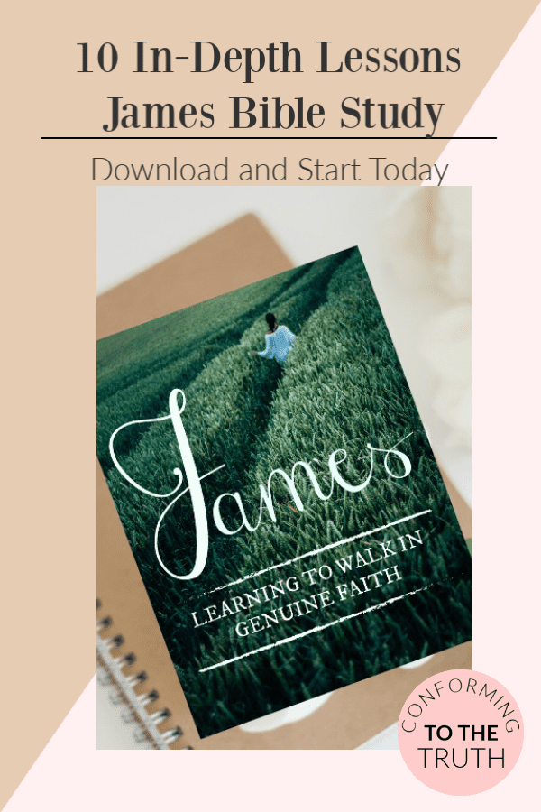 Learning to Walk in Genuine Faith~ James Bible Study